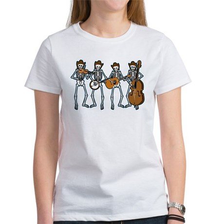 Cowboy Music Skeletons Women's T-Shirt