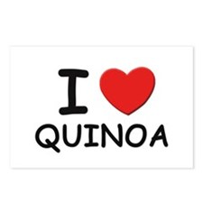 I love quinoa Postcards (Package of 8)