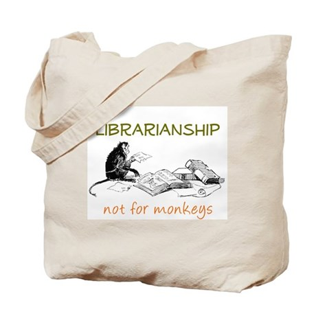 Librarianship - Monkeys Tote Bag