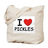 I love pickles Tote Bag