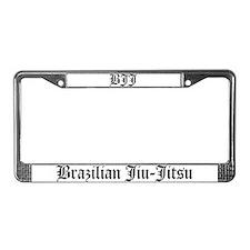 BJJ License Plate Frame
