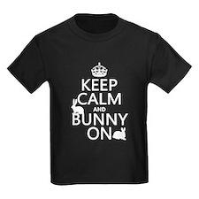 Keep Calm and Bunny On T-Shirt