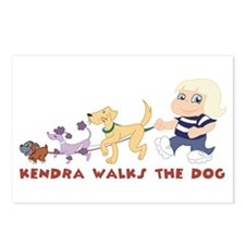 kendra walks the dog!