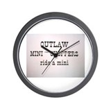 Unique Outlaw Wall Clock