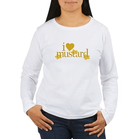 I Love Mustard Women's Long Sleeve T-Shirt