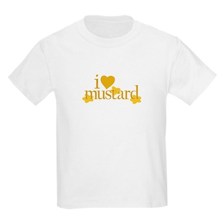 I Love Mustard Kids T-Shirt