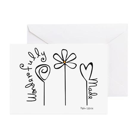 Wonderfully Made Greeting Cards (Pk of 10)