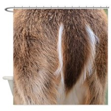 Deer Tail Shower Curtain