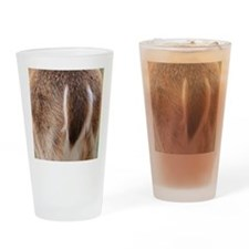 Deer Tail Drinking Glass