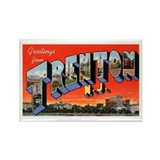 Trenton New Jersey Greetings Rectangle Magnet