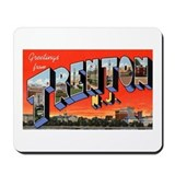 Trenton New Jersey Greetings Mousepad