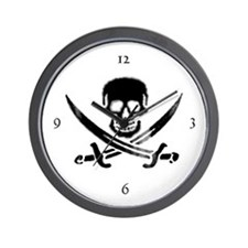 Savvy Pirate Wall Clock
