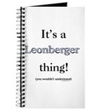 Leonberger Thing Journal