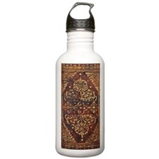 Vintage Book Cover Sports Water Bottle