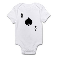 Ace of Spades Infant Bodysuit
