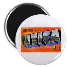 "Utica New York Greetings 2.25"" Magnet (10 pack)"