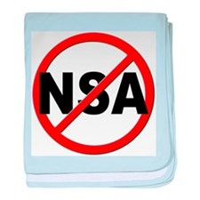 Anti / No NSA baby blanket