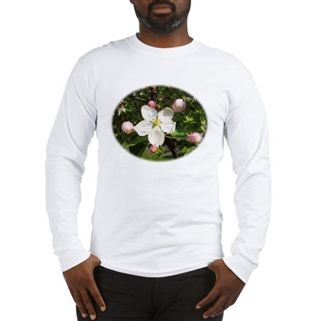 Apple Blossom Long Sleeve T-Shirt