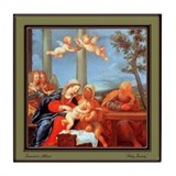 Francesco Albani Tile Coaster