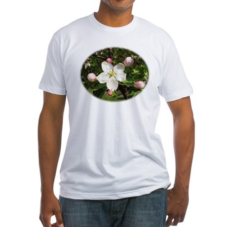 Apple Blossom Fitted T-Shirt