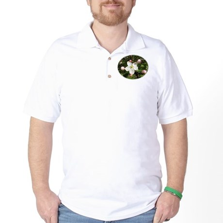 Apple Blossom Golf Shirt