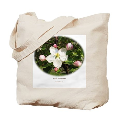 Apple Blossom Tote Bag