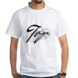 Black Tap on Shoe Shirt