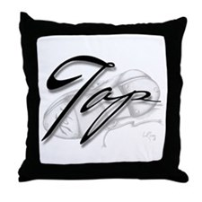 Black Tap on Shoe Throw Pillow