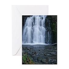 Waterfall and babbling brook Greeting Card