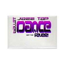 Pink Dance- Jazz,Tap,Ballet Rectangle Magnet