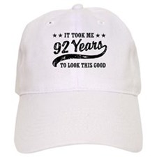 Funny 92nd Birthday Baseball Cap