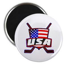 American Hockey Shield Logo Magnet