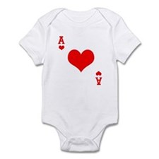 Ace of Hearts Infant Bodysuit