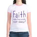 Faith Jr. Ringer T-Shirt