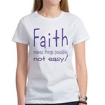 Faith Women's T-Shirt