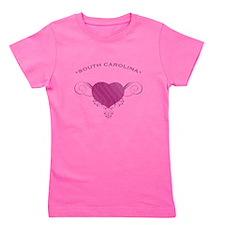 South Carolina State (Heart) Gifts Girl's Tee