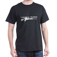 Happiness is a Headshot T-Shirt