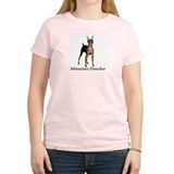 Miniature Pinscher Women's Pink T-Shirt