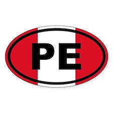 Peru PE Bumper Stickers