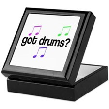 Got Drums Keepsake Box