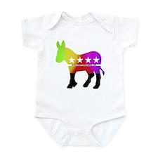 The Lone Donkey Boots Infant Bodysuit