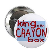 "Crayon Box 2.25"" Button (10 pack)"