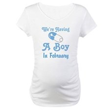 Personalized Having A Baby Boy Shirt