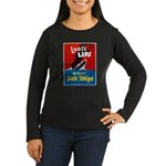 Loose Lips Sink Ships (Front) Women's Long Sleeve