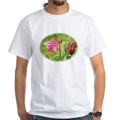 Columbine White T-Shirt