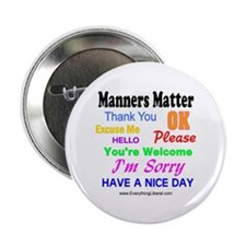 Manners Matter Button