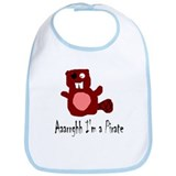 Pirate Beaver Bib