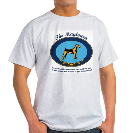 The Mayflower Dog Show Ash Grey T-Shirt