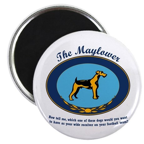 The Mayflower Dog Show Magnet