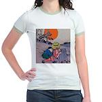 Jack Pumpkinhead #4 Jr. Ringer T-Shirt